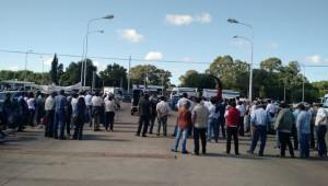 Protesta Tambera en Trenque Lauquen