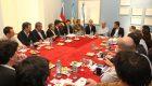 Ritondo encabezó una reunión en Lanús con intendentes