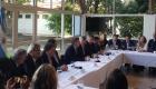 Macri encabezó la firma de un convenio de productividad agropecuario antes del acto de inauguración de La Rural de Palermo