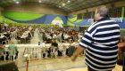 Masivo festejo del día de los municipales en Avellaneda