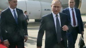 Arribo de Putin