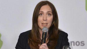 Vidal anuncio bono a bonaerenses